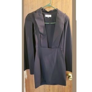 Pre-owned House of CB cape dress